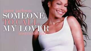 Janet Jackson - Someone To Call My Lover (Instrumental)