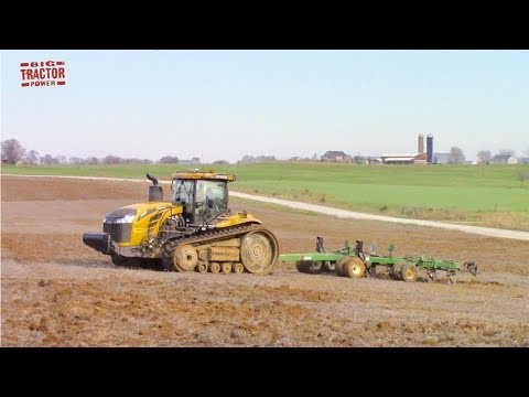 600 HP CHALLENGER MT875E Tractor Put To The Test Plowing