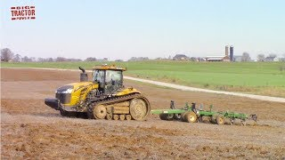 600 HP CHALLENGER MT875E Tractor Put to the Test Plowing Video