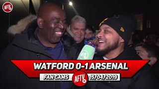 Watford 0-1 Arsenal | Troy Deeney Lost His Head!! (Troopz)