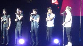 One Direction - Change My Mind [live] (Take Me Home Tour 8.7.13 Los Angeles) - HD