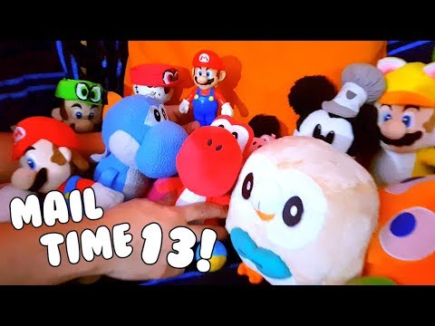 SO MANY PLUSHIES!!! MAIL TIME! Episode 13 - Cute Mario Bros.