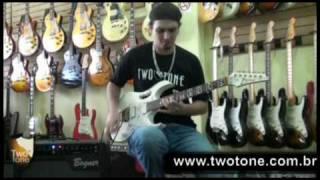 Download IBANEZ JEM 7VWH - TWO TONE GUITAR SHOP MP3 song and Music Video