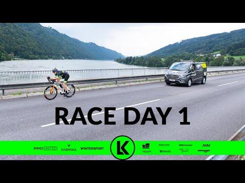 Lukas Kaufmann - Das Race Around Austria ist gestartet
