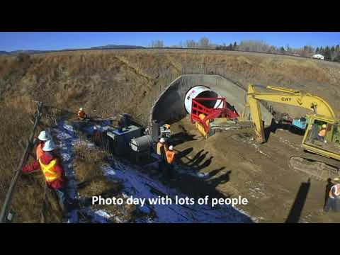Fossil Creek Pedestrian Tunnel Construction Overview by Lithos Engineering