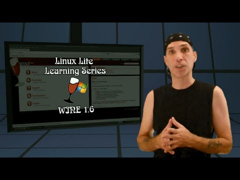 Linux Lite Learning: Wine 1.6