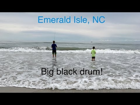 Surf Fishing Emerald Isle, NC!