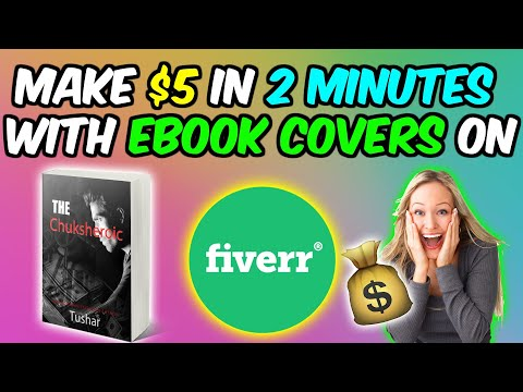 How to Make Money on Fiverr with Ebook Covers - Make Money On Fiverr in 2020