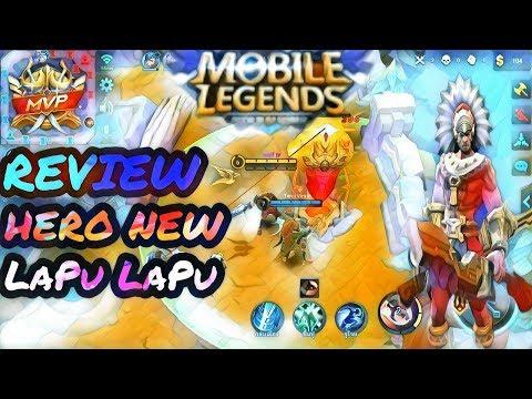 MOBILE LEGENDS |  REVIEW  HERO | NEW  LAPU LAPU – ลาปูลาปู