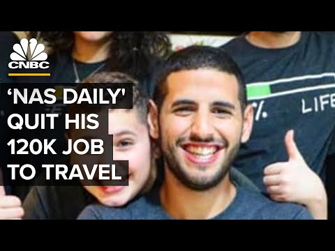 25-Year-Old 'Nas Daily' Quit His $120K Job At Venmo To Travel The World | My Success Story | CNBC Mp3