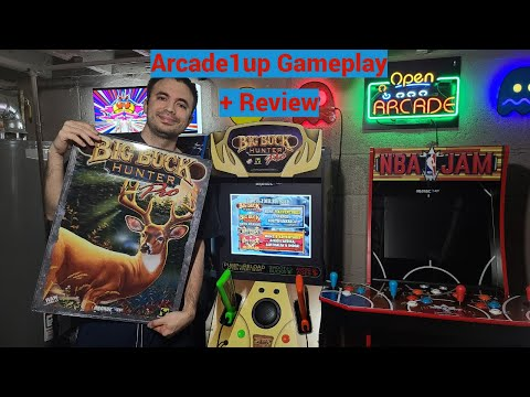 Arcade1UP Big Buck Hunter Cabinet Gameplay and Review - Do They Nail 1st Sinden Light Gun Cabinet? from UrGamingTechie