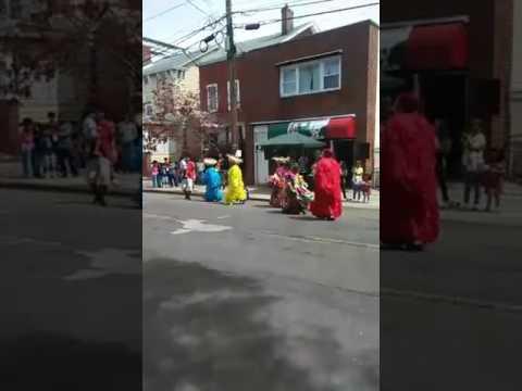 Carnaval Putleco en Ciclovia 2017 en NEW BRUNSWICK NJ.