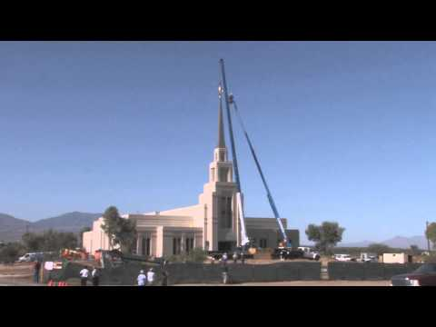 Angel Moroni Placement on The Gila Valley Arizona Temple