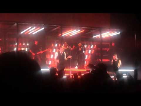 Hurts Lights, Hartwall Arena, Helsinki 8.3.2016