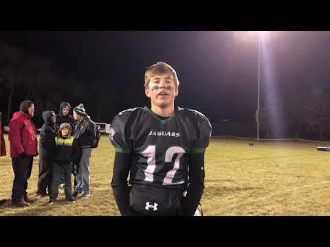 Jacob Tomcak and Howells-Dodge defeat Norfolk Lutheran High Northeast 56-22