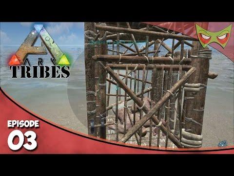 Ark: Tribes - Ep 03 - Pranks Begin! - Let's Play On Pooping Evolved