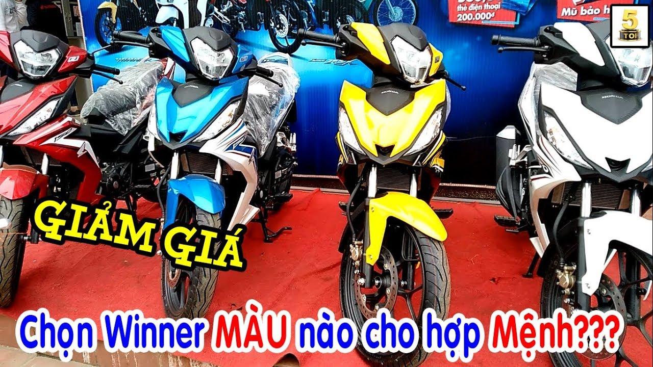Chọn MÀU SẮC xe Winner hợp Mệnh ▶️ Giá bán xe Winner mới nhất hôm nay 🔴 TOP 5 ĐAM MÊ