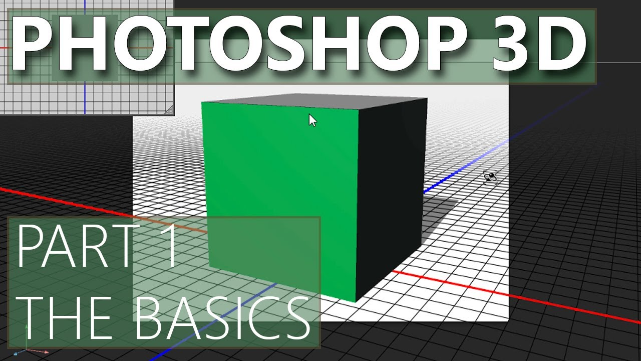 3d in photoshop cs6 01 3d basics youtube baditri Gallery