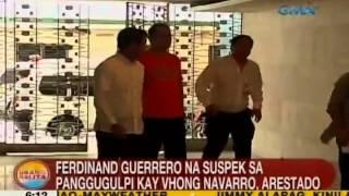 UB: Ferdinand Guerrero na suspek sa panggugulpi kay Vhong Navarro, arestado