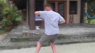 Martial Arts to calm the mind in the Solomon Islands