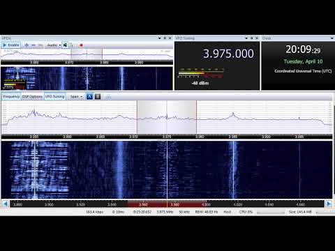 10 04 2018 New Shortwave Radio for Europe in English to NWEu 2008 on 3975 Winsen