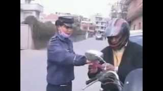 Bike accident in nepal