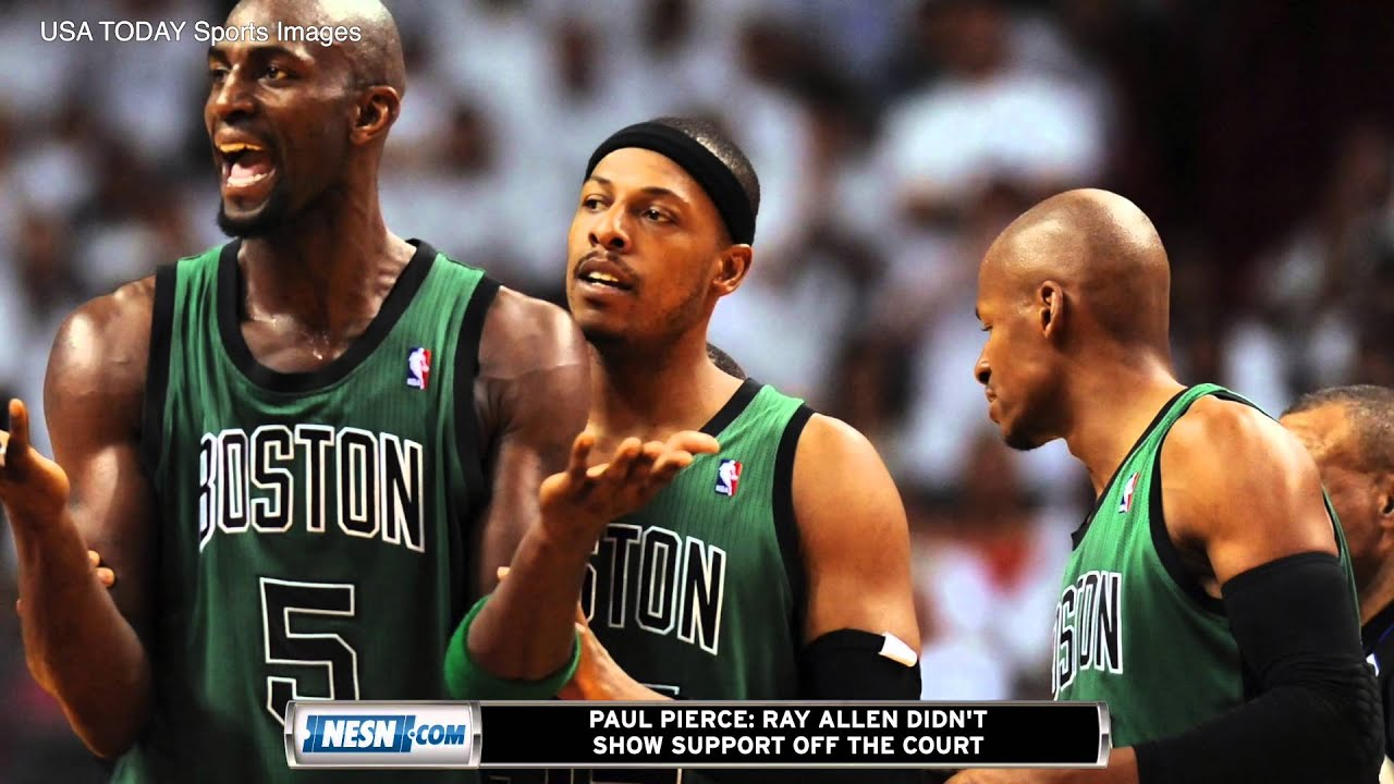Paul Pierce He Kevin Garnett Sam Cassell Were Real Big Three