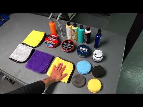 Auto Detailing Wax with Black Car Demo | Auto Fanatic