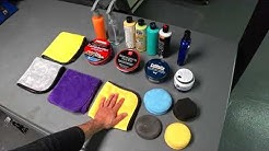 Auto Detailing Wax with Black Car Demo | Auto Fanatic