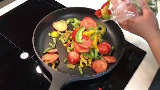 Макароны с Овощами . Как приготовить макароны с замороженными овощами