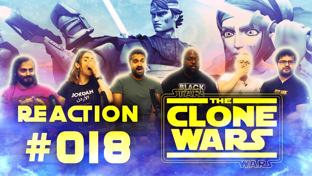 The Clone Wars - Episode 18 (1x14) Defenders of Peace - Group Reaction