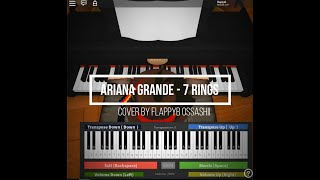 Roblox Piano| Ariana Grande - 7 Rings| FULL| (Notes In The Description)