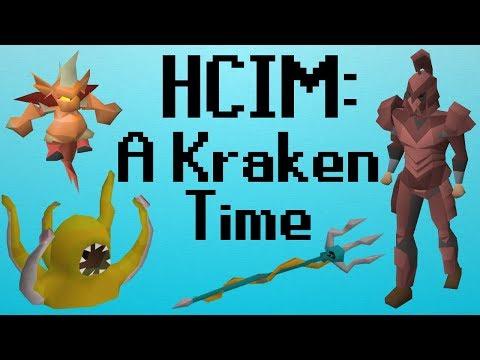 [OSRS] HCIM 107: A Kraken Time (1853/2277)