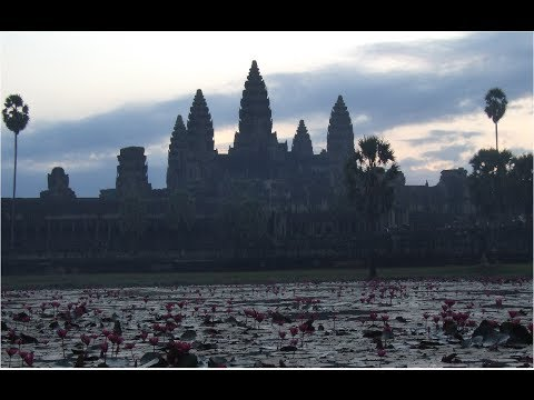Cambodia Photo Slideshow with Relaxing Meditation Music & Ambience