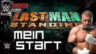Mein Start in Last Man Standing | 3x WM 34 Pulls | TBG Pack | WWE Supercard Deutsch