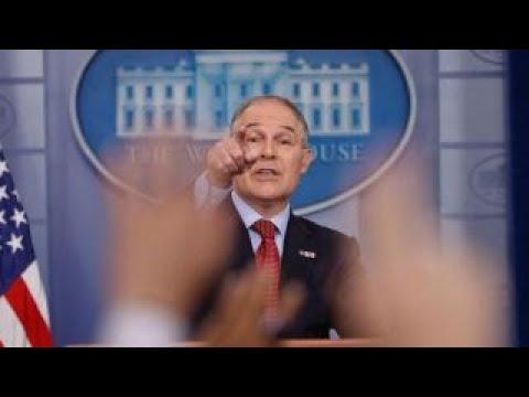 EPA Chief Pruitt: The 'war on coal' is over