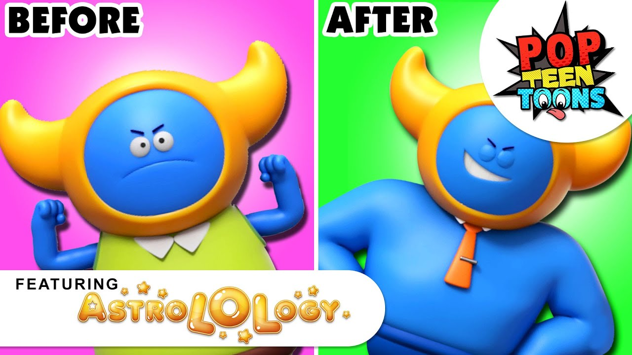 AstroLOLogy   Fat to Fit  Funny Cartoon for Kids   Pop Teen Toons