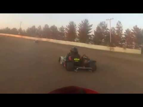 Frozen Ocean Speedway 9/3/2016 Heat #2 second place