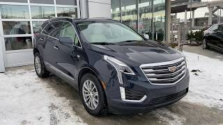Blue 2017 Cadillac XT5 Luxury AWD Review   - GSL GM City | Calgary