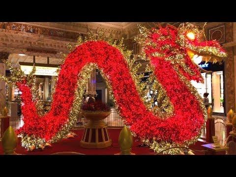 Las Vegas,  Illuminated Dragon@Forum Shops