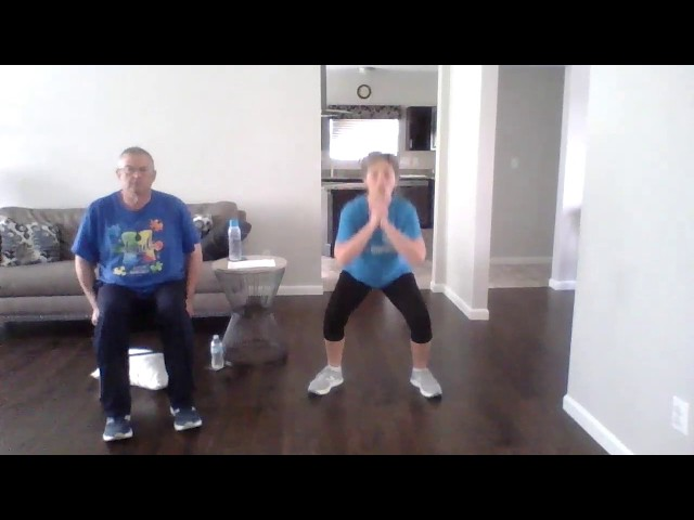 Silver Sneakers Classic (standing and seated exercises), Apr 17, 2020