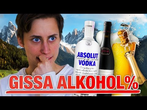 GISSA ALKOHOLHALTEN
