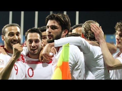 Karadağ 2-2 Türkiye |  Hazırlık Maçı | Maç Özeti - Goller