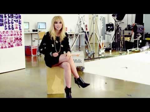 Suki Waterhouse Interview: Holiday 2013 Behind The Scenes