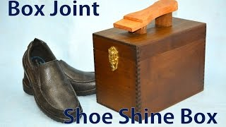 How to Make a Box Joint Shoe Shine Tote