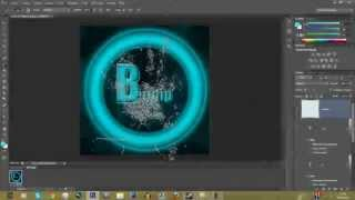 Tuto Pour Debutants | Photoshop| Faire un logo TRÈS simple [FR & HD]