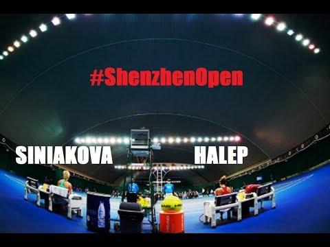 Simona HALEP (ROU) vs Kateřina Siniaková (CZE) 🎾 2018 Shenzhen Open, CHINA (video)