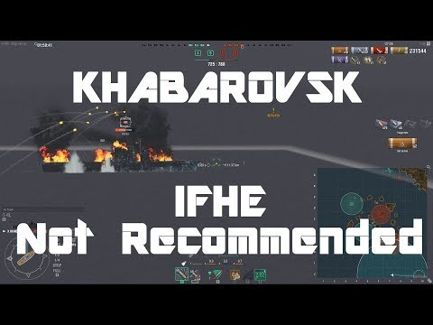Khabarovsk - IFHE Not Recommended