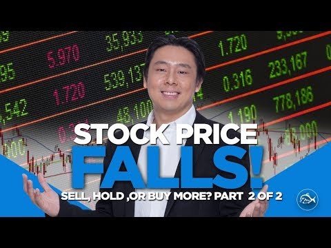 Stock Price Falls! Sell, Hold Or Buy More? Part 2 of 2