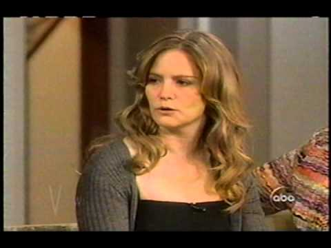 Jennifer Jason Leigh on THE VIEW December 6, 2005